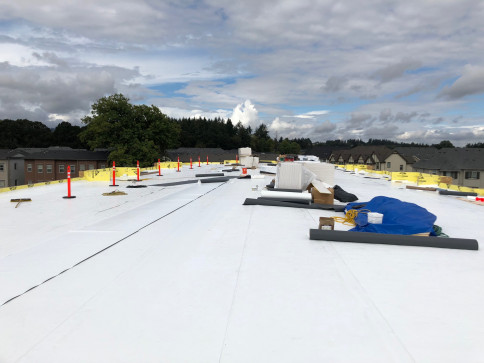 flat roof installation portland or